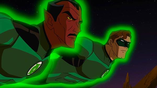 green lantern und sinestro