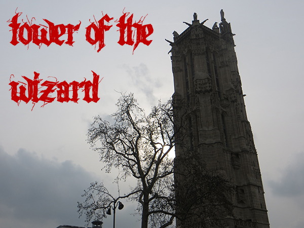 gothic tower of the wizard