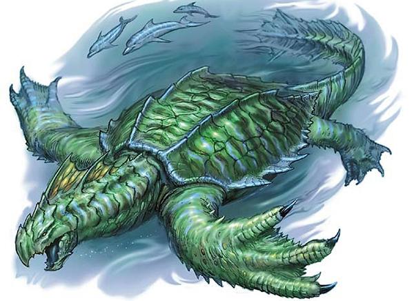 Drachenschildkröte DnD