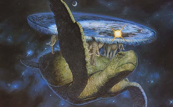 schildkröte Scheibenwelt Terry Pratchett