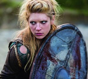 Vikings-frau von ragnar