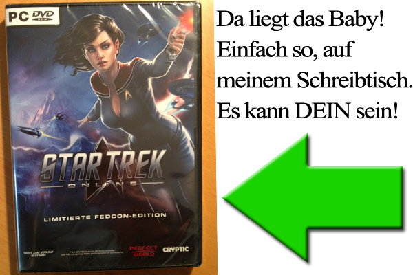 Star Trek Online FedCon 2013 Edition