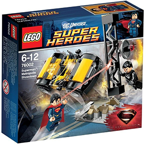 man of steel lego packung