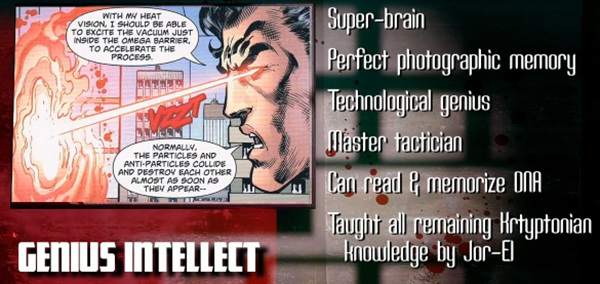 superman genius intellect