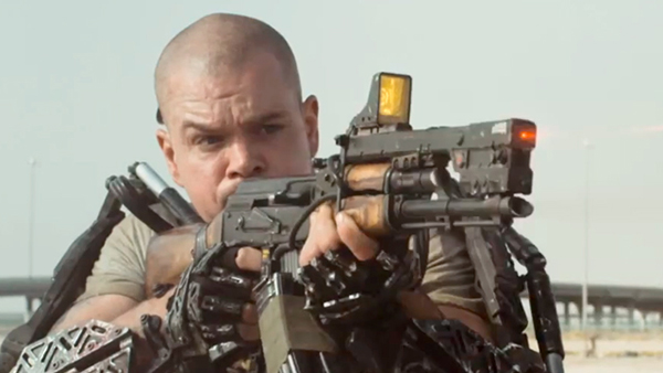 Elysium Matt Damon