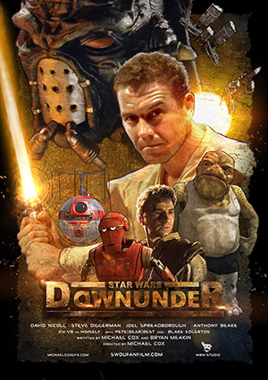 Star Wars Downunder Poster