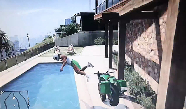 gta v pool jumps