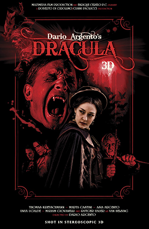 dracula 3d filmposter