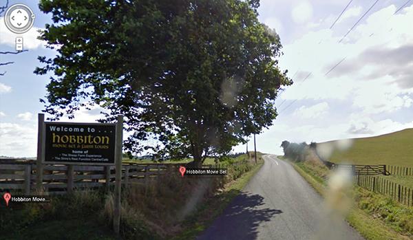 hobbiton google maps