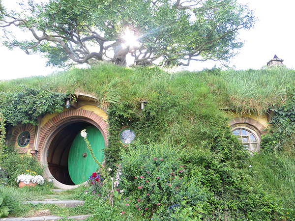Bag End Movie Set Hobbiton