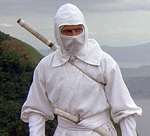 weißer ninja