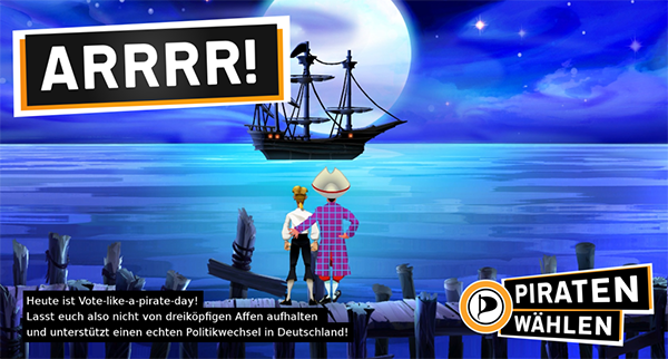 monkey island piratenpartei