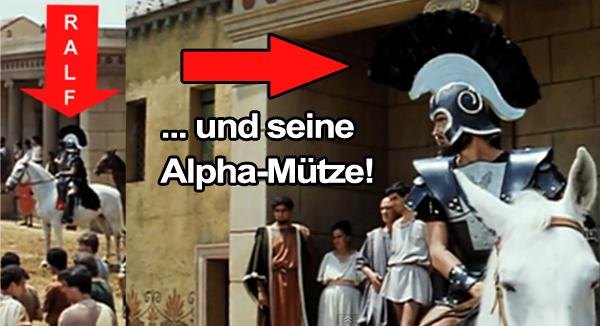 ralf und seine alpha mütze