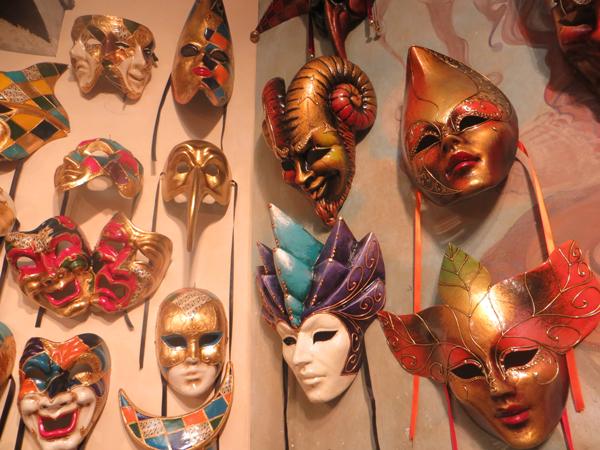 Masken in Venedig 1