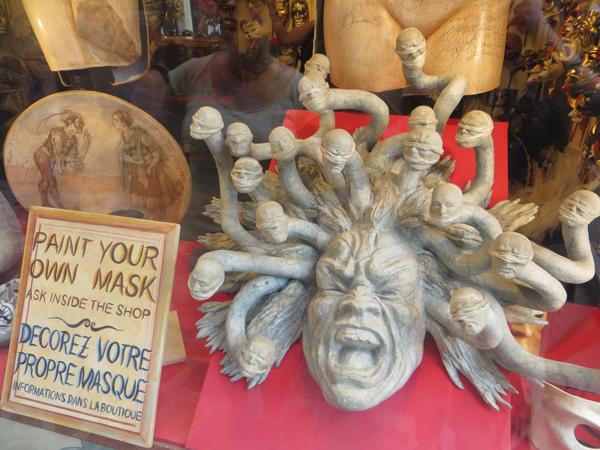 Masken in Venedig 3