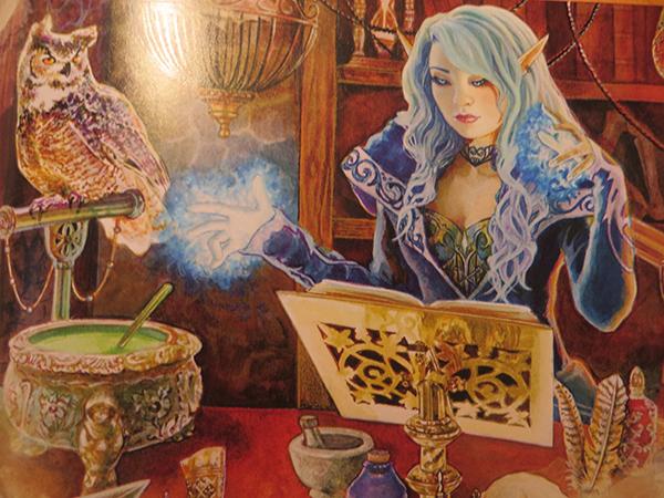 elfische zauberin