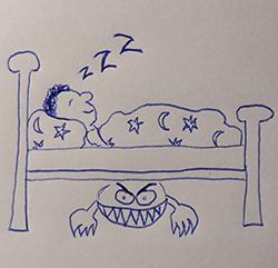 Meine top 5 monster des alltags mit phantomzeichnungen for Schrank comic