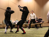 Steel Longsword Fighting