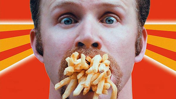 burger und fastfood super-size-me