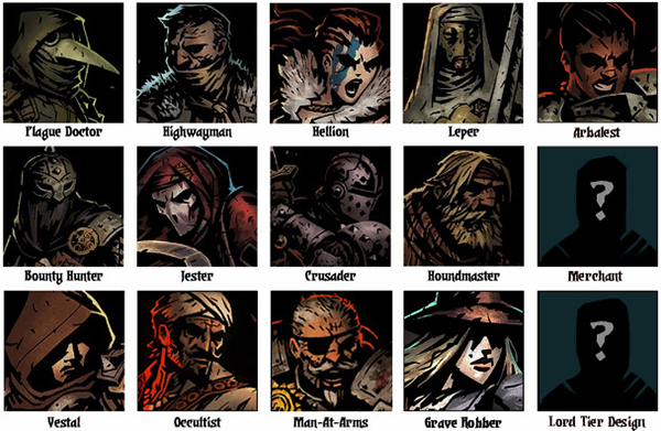 Heroes of Darkest Dungeon