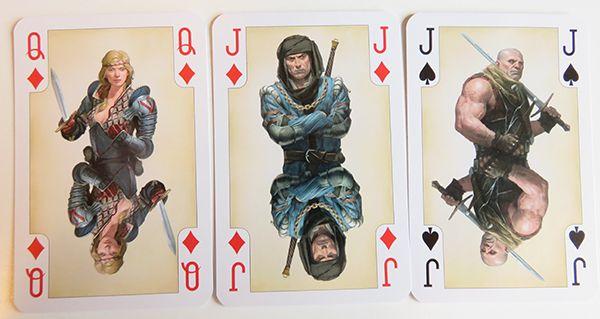 Spielkarten Saskia Vernon Roche Kingslayer