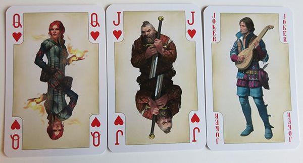 Spielkarten Triss Zoltan Rittersporn