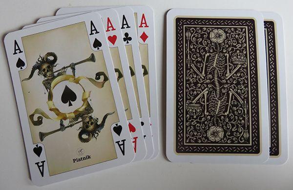 Witcher 2 Spielkarten Rückseiten