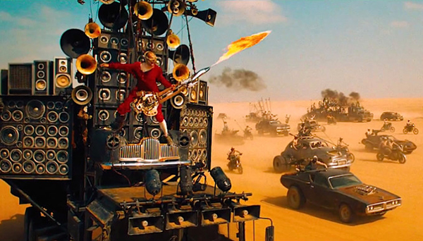 Mad Max Fury Road Gitarrist