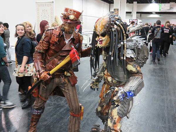 Steampunk und Predator