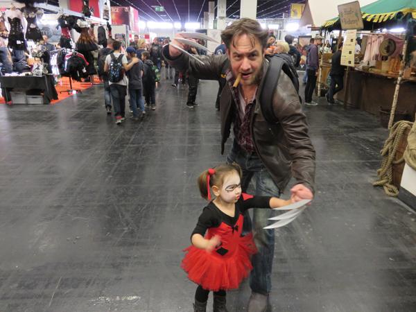 Wolverine und Tochter