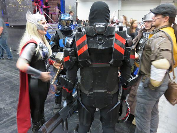 weiblicher Thor