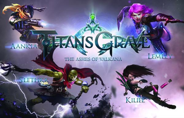 titans grave the ashes of valkana