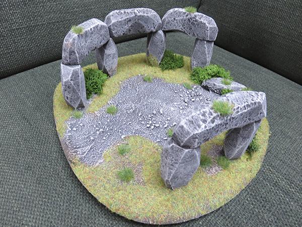 Stonehenge Steinkreis Miniatur