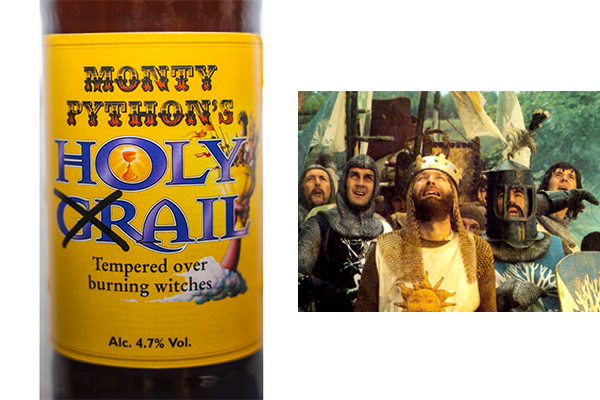monty pythons holy ail bier