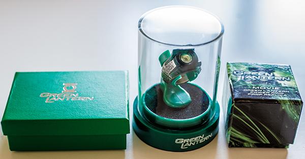 green lantern ring packungen
