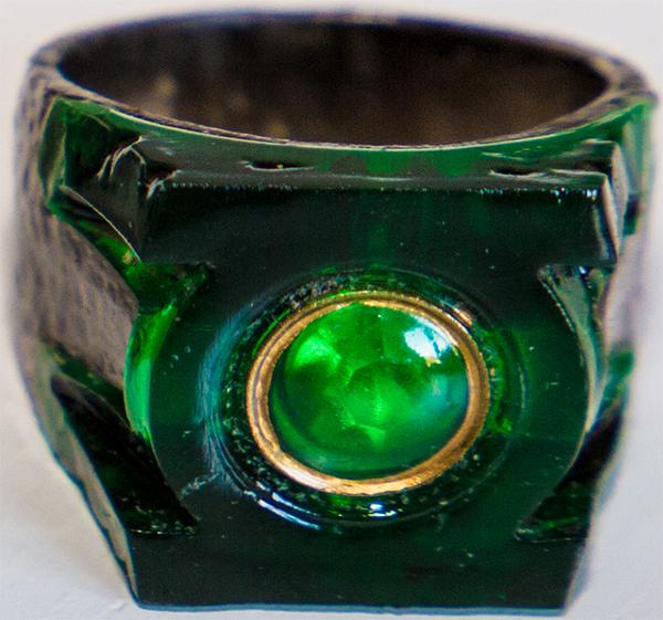 green lantern ring paint job
