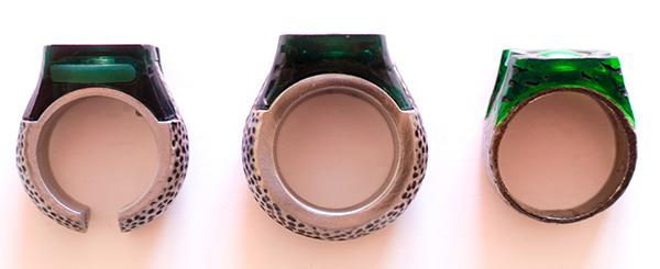 green lantern ringe von der seite