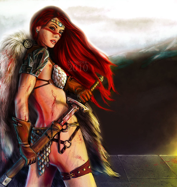 red_sonja by fedeschroeder