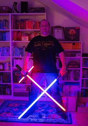 Kylo Ren und Anakins Lichtschwert