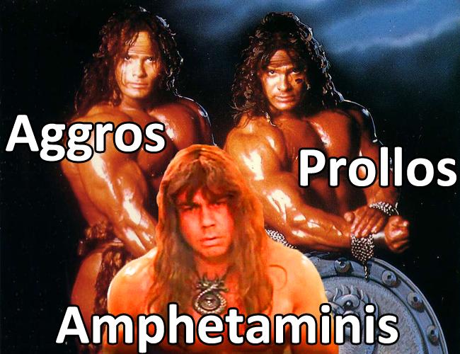 die drei muskeltiere