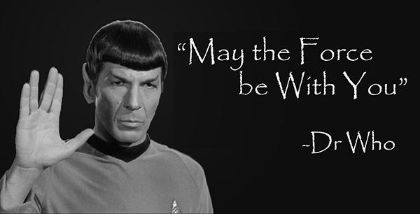 misquote spock