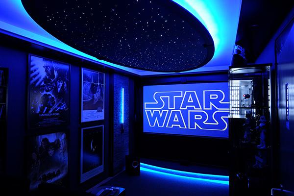 star wars heimkino. Black Bedroom Furniture Sets. Home Design Ideas