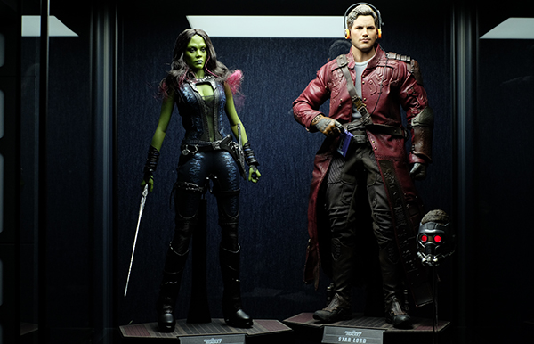 Star lord gamorra Hot toys