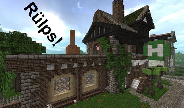 Minecraft Mittelalter Brauerei