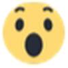 erschrockenes emoji