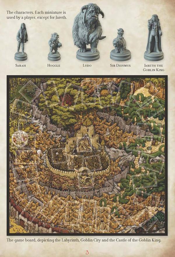 Labyrinth Spielplan