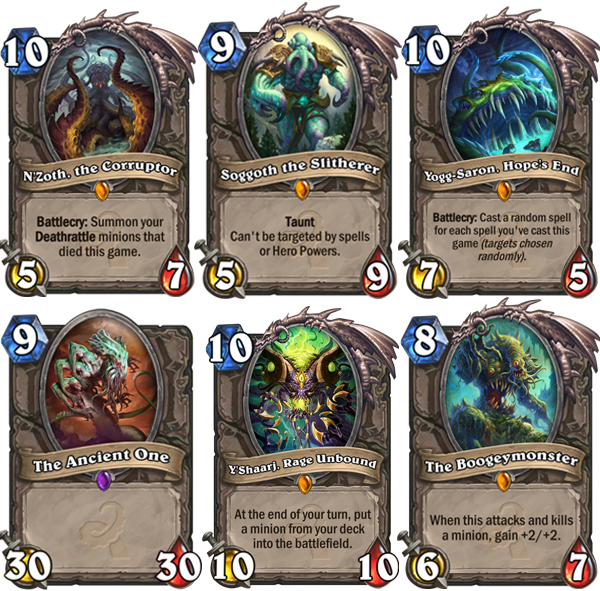 Hearthstone old gods