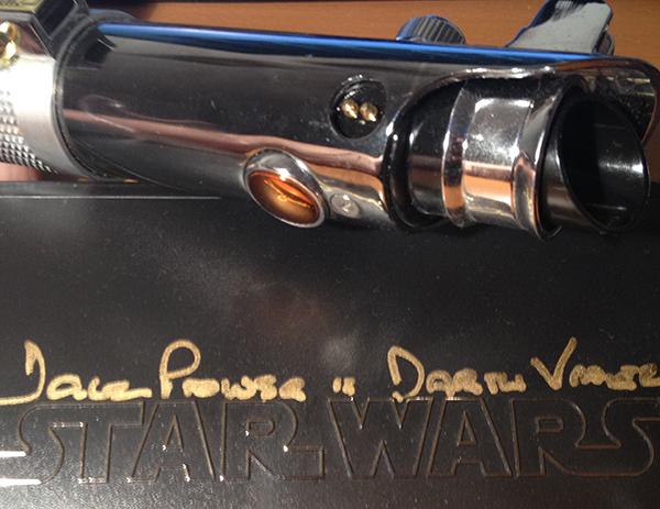 david Prowse autogramm