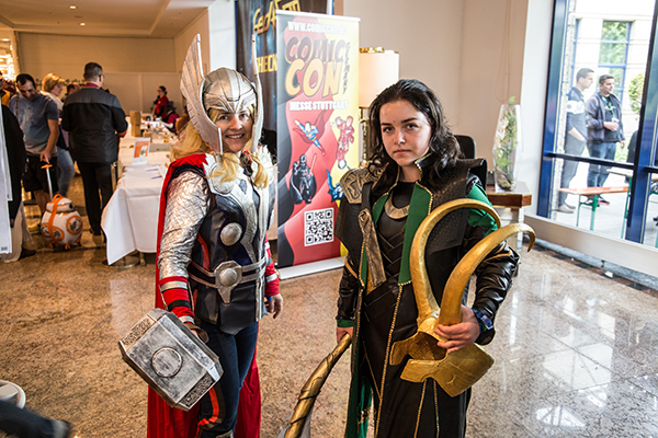thor und loki cosplay