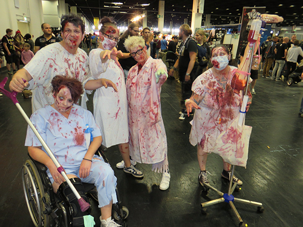 zombies cosplay